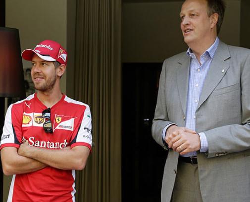 Sebastian Vettel Ulrich-Ferrari-Autohaus-Frankfurt
