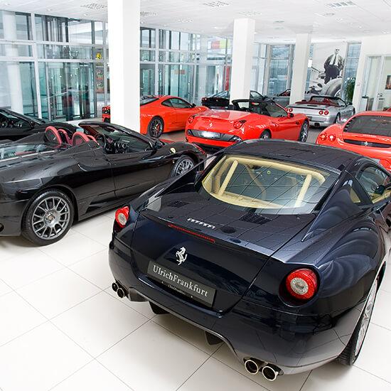 Angebote Ulrich Ferrari Autohaus Frankfurt