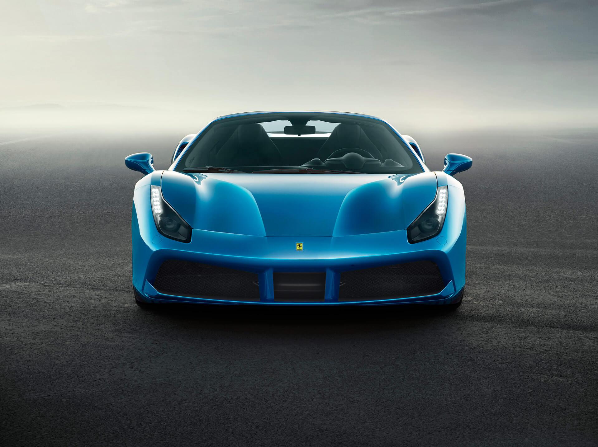 Ferrari 488 Spider Frontansicht