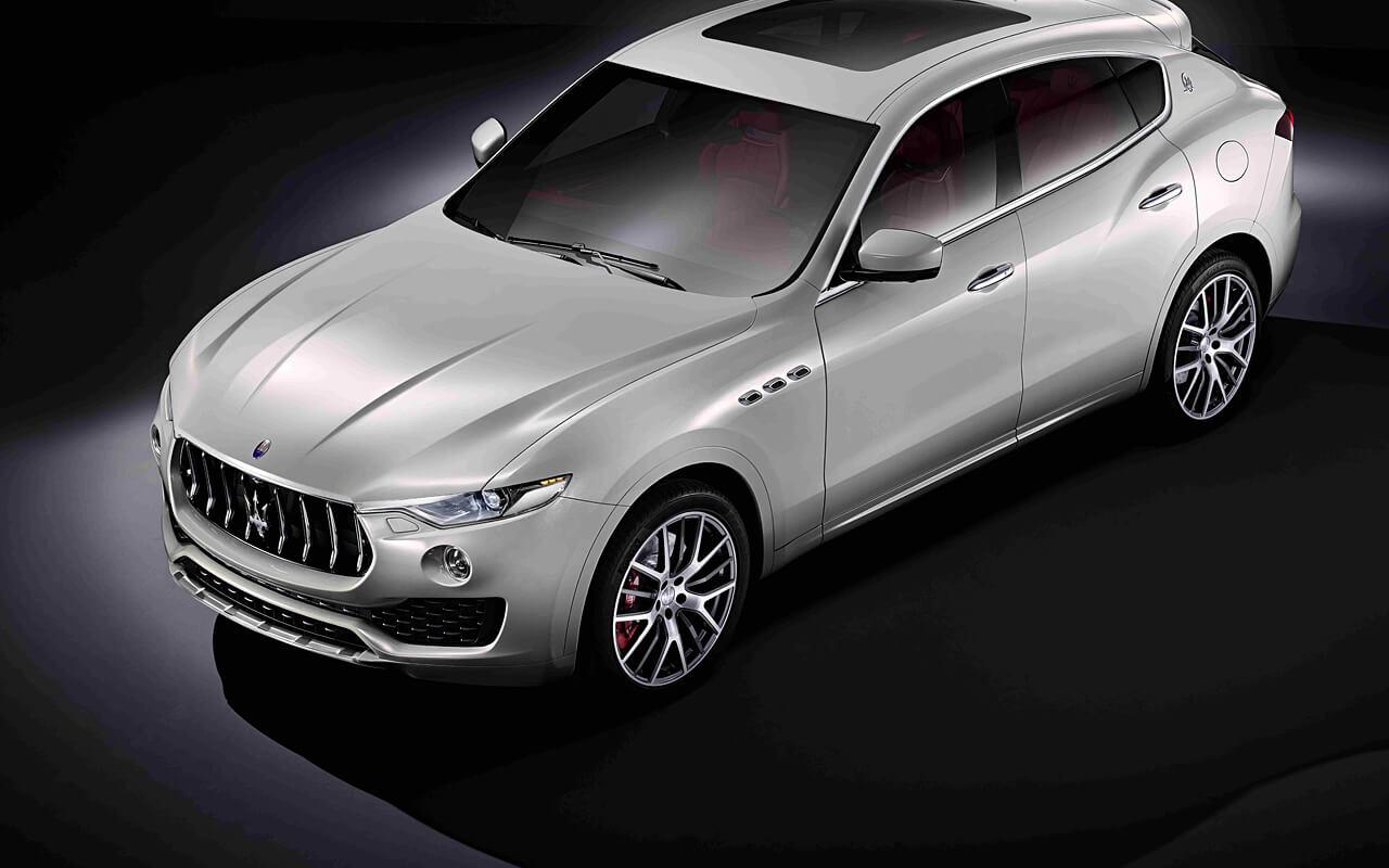 Maserati-Levante-seitliche-Front
